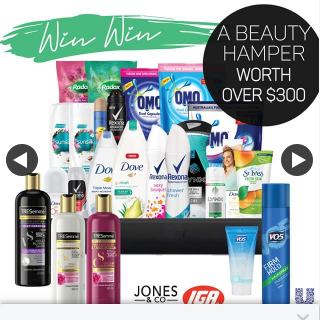 IGA Manly Village – Win this Beauty Hamper Valued at Over $300? (prize valued at $300)