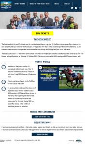 Kosciuszko sweepstakes – Win One of The 14 Slots for The Kosciuszko Race
