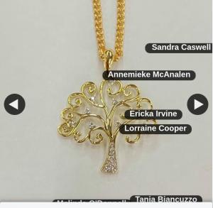 Leon Baker Jewellers – Win this Gorgeous 9ct Yellow Gold Diamond Tree of Life Pendant