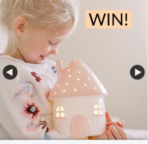 Little Belle Light – Win a Little Belle Elfin House Nightlight Then Simply