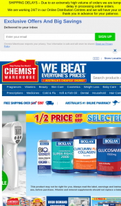 L'Oreal Chemist Warehouse – Win a Maximum of One (1) Prize (excludes Sa Residents). (prize valued at $20,000)
