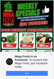Mega Fresh Browns Plains – Win a $50 Voucher to Spend In Store (prize valued at $50)