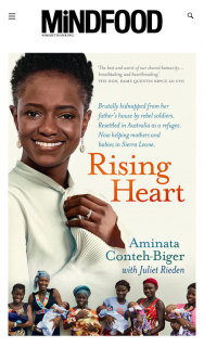 Mindfood – Win 1 of 10 Copies of Rising Heart (prize valued at $34.99)