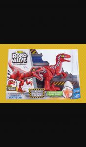 Mouths of Mums – Win a Robo Alive Rampaging Raptor Dinosaur Toy Pack Thanks to Our Friends at Zuru