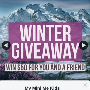 My Mini Me Kids Boutique – Win a $50 Store Voucher