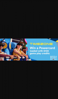 MyGC 1029 HOT TOMATO – Win a Timezone Powercard (prize valued at $1,200)