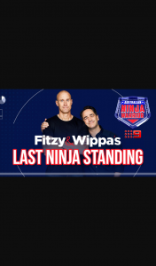 Nova FM Fitzy & Wippa's Last Ninja Standing closes 4pm – Win One (1) Prize Each