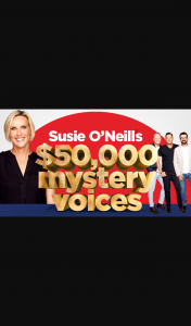 Nova FM – Win Susie O'neill's $50 (prize valued at $53,000)