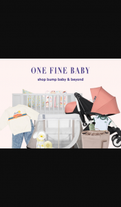 One Fine Baby – Win Stay at Home Mums Giveaway (prize valued at $5,500)