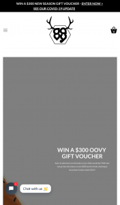 Oovy – Win a $300 New Season Collection By Australian Label Oovy (prize valued at $300)