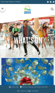Park Beach Plaza Coffs Harbour – Daily Prizes (prize valued at $10,000)