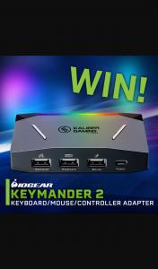 PC Casegear – Win a Keymander2 Controller