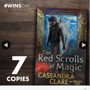 QBD Books – Win One of Seven Copies of The Red Scrolls of Magic