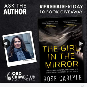 QBD Books – Win One of Ten Copies of The Girl In The Mirror