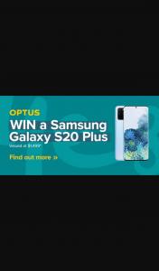 Radio lafm TAS – Win a Samsung Galaxy S20 Plus (prize valued at $1,499)