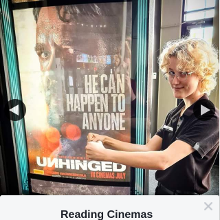 Reading Cinemas Belmont – Win a Double Pass to See Unhinged