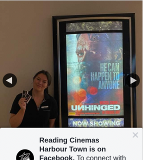 Reading Cinemas Harbourtown – Win a Unhinged Double Pass