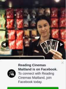 Reading Cinemas Maitland – Win a Double Pass to See Any Movie