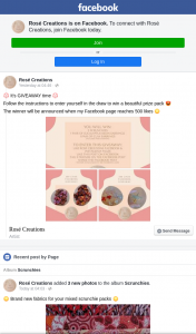 Rose Creations – Win a Beautiful Prize Pack