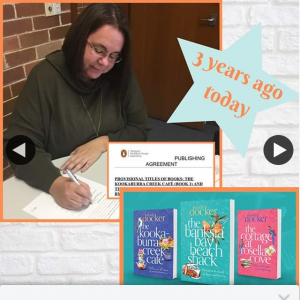 Sandie Docker Writer – Win One My Signed Books & Chocolates