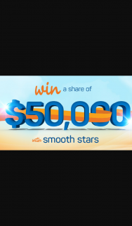 Smooth FM – Win Your Share of $50000 With Smooth Stars (prize valued at $50,000)