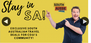 South Aussie With Cosi – Win a Couple of World Famous South Aussie With Cosi Stubbie Holders