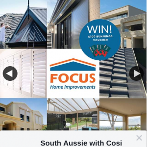 South Aussie With Cosi – Win One of Three $100 Bunnings Vouchers
