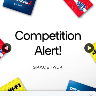 Spacetalk – Win 3 Vouchers From Our Featured Retailers (prize valued at $300)