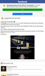 Sunnybank Plaza & Sunny Park – Win a Hoyts Family Pass to See Any Movie