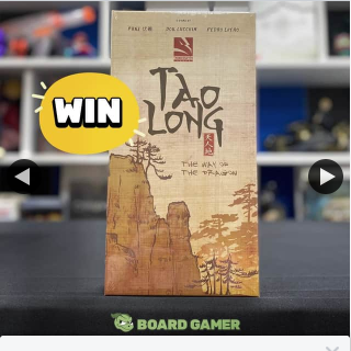 The Board Gamer – Win a Copy of Tao Long Way of The Dragon