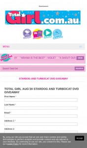 Total Girl – Win a Copy of Stardog and Turbocat DVD (prize valued at $499)