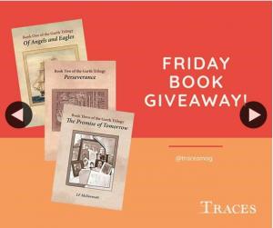 Traces magazine – Win The Garth Trilogy