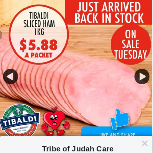 Tribe of Judah Care – Win a $100 In Store Gift Voucher