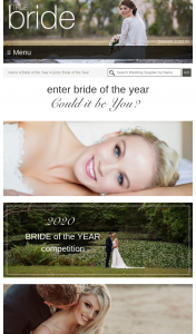 True Bride – Win Enter Bride of The Year Could It Be You (prize valued at $2,000)