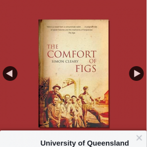 University of Qld Press – Win One of Four Copies of The Comfort of Figs Book