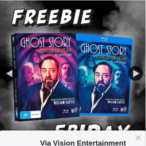 Via Vision Entertainment – Win a Copy of Ghost Story on Bluray
