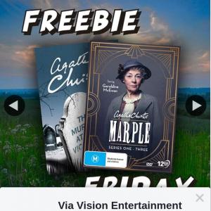 Via Vision Entertainment – Win a Copy of Marple Series 1-3 DVD & Novel