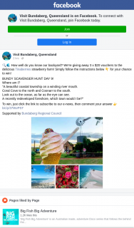 Visit Bundaberg – Win One of Three $20 Vouchers to Tinaberries Strawberry Farm (prize valued at $60)