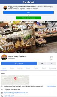 Win a Hamper Happy Valley Foodland 12pm