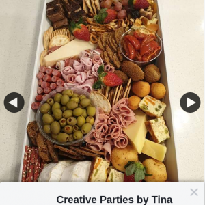 Win a Large Antipasto Box Or 1/20 Smaller Boxes Creative Parties By Tina