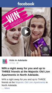 Win a Night Away for You and Up to Three Friends at The Majestic Old Lion Apartments In North Adelaide