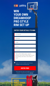 Win Your Own Dreamhoop Pro Style Rim BaskeTBall Set Up