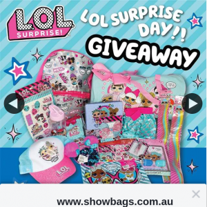 wwwshowbags – Win an Awesome Lol Surprise Pack