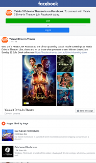 Yatala 3 drive-in theatre – Win 1 of 5 Free Car Passes to One of Our Upcoming Classic Movie Screenings at Yatala Drive In Theatre