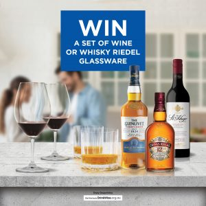 Bottlemart – Win 1 of 250 sets of Riedel wine or whisky glasses