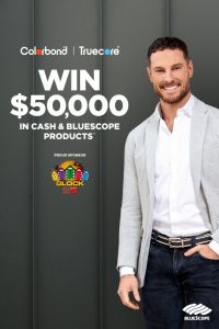 Colorbond – Win $50,000 in cash and Bluescope products