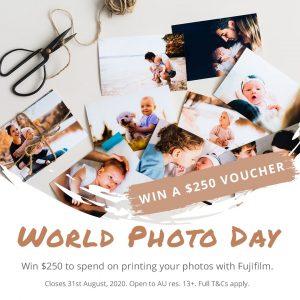 Fujifilm Photos Australia – Win a $250 Fujifilm Photo printing voucher