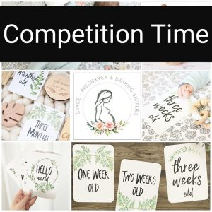 Grace Pregnancy & Birthing Supplies – Win a prize pack of Fern Baby Milestone Cards