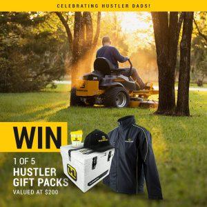 Hustler Turf Equipment Australia – Win 1 of 5 Hustler gift prize packs