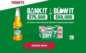 Lion-Beer, Spirits & Wine – TED X LMG On Pack – Win $75,000 in the bank OR $50,000 to spend now